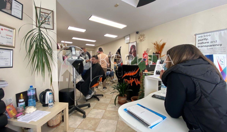 фризьорски салон в район Оборище
